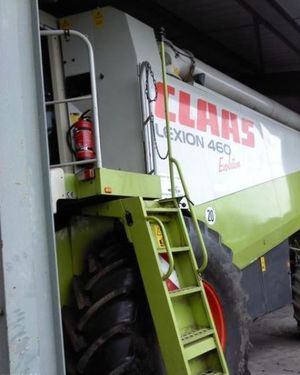 Комбайн Claas Lexion 460 Evolution Год выпуска 2003.